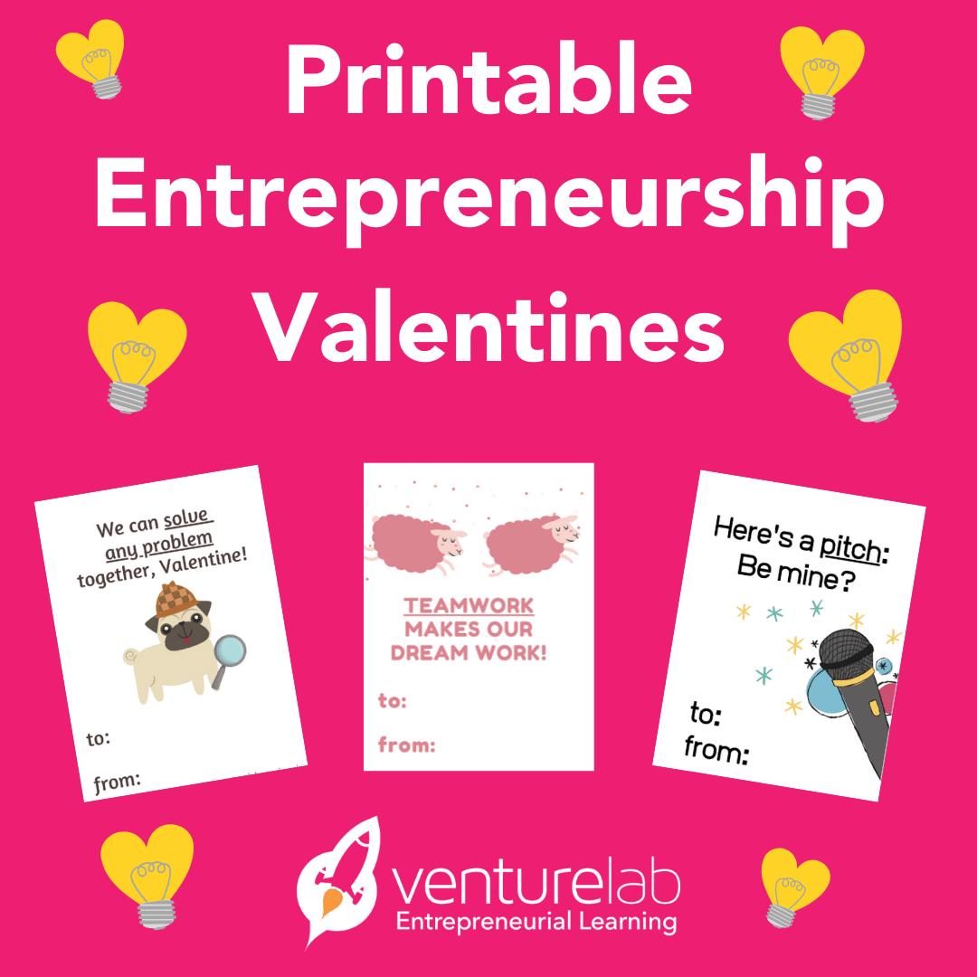 Entrepreneurship Valentines