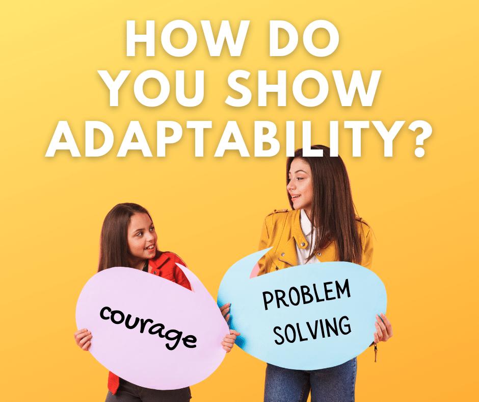 How do you show adaptability? Youth entrepreneurship